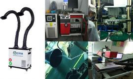 焊锡烟雾排风机 焊接烟尘排烟设备 工厂车间焊接除烟器 焊烟处理