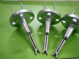 耐高温防堵标准S型法兰皮托管