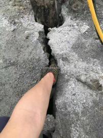 采石场附近有居民区不能放炸药爆破快速采石开矿