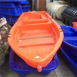 江河专用渔船 抓鱼船 渔民用的塑料船 鱼塘施肥船
