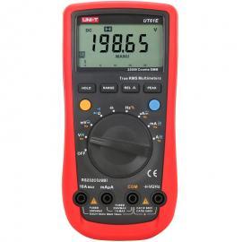 优利UT61E万用表数字四位半高精度多功能防烧电工全自动万能表