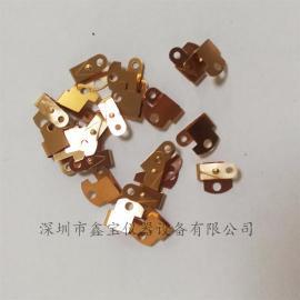 铍铜冲压弹片,温控器铍铜弹片,铍铜热处理炉