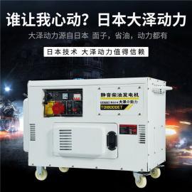 12kw低油耗柴油�l��C