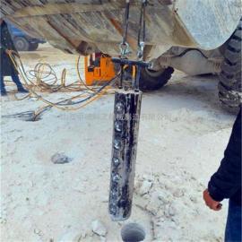 矿山静态开采开山机岩石劈裂棒产量高
