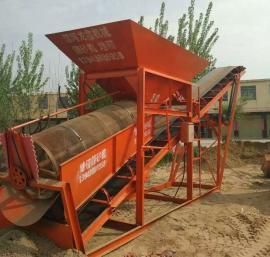 转筒筛 大型滚筒筛50型筛沙机 筛分设备