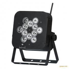 炫展灯光定制12颗无线帕灯 LED染色舞台灯