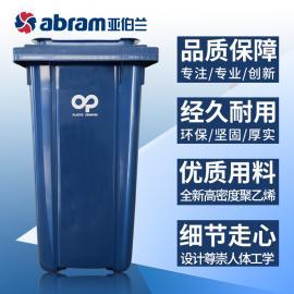 原装进口户外240L可移动垃圾桶法国PO