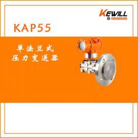 KEWILL高精度废水处理单法兰式压力变送器KAP55系列
