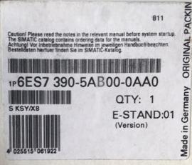 西门子 6ES73905AB000AA0 原装 6ES7390-5AB00-0AA0 全新现货