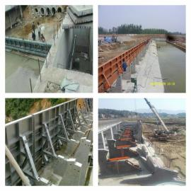 水力翻板闸门水电站大坝翻板闸门飞瀑水利生产