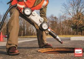 管道切割机器人 非开挖修复预处理机器人 支管超强气动切割打磨