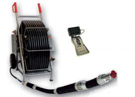 管道切割机器人 竖直管道切削打磨 管道修复 推杆式气动修复