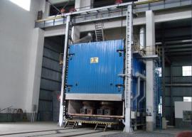 压力容器台车式退火炉,大型燃气退火炉