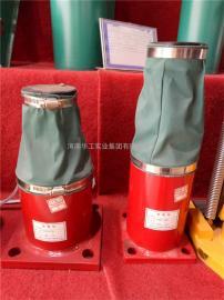 HYG80-270双梁行车液压缓冲器 起重机防撞块 液压阻尼缓冲器