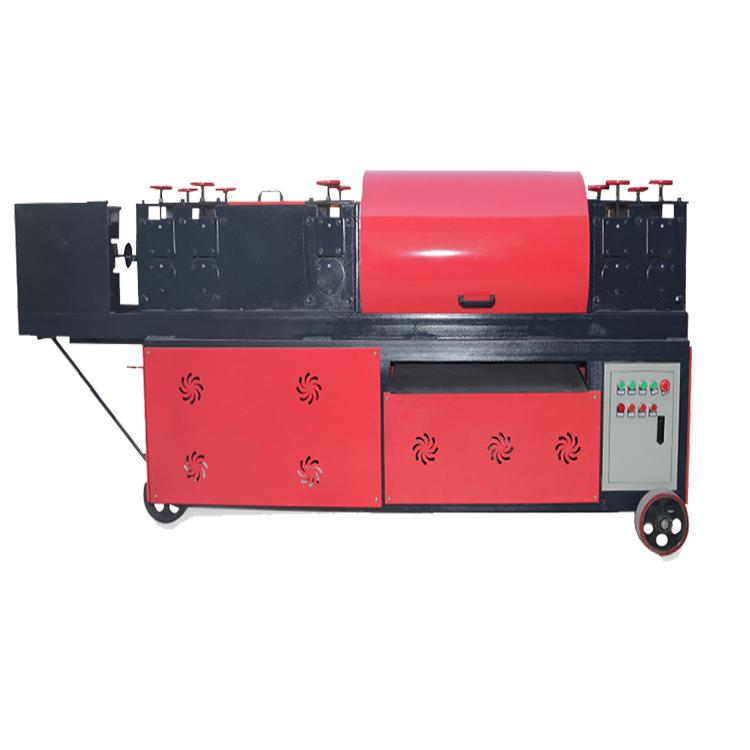 双牵引脚手架调直除锈机 精恒钢管调直刷漆机使用规程