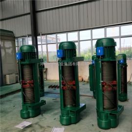 优质10吨9米钢丝绳电动葫芦 方箱电动葫芦 一字型卷扬机电动葫芦