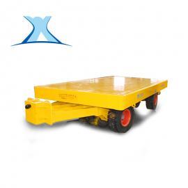 小吨位的无轨胶轮牵引拖车用于石墨搬运