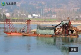 洗沙�C械�O�� 挖深15米�x金淘金船 挖沙船抽沙船 �x心�C淘金船
