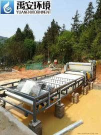 地铁打桩工程打桩泥浆脱水机污泥带式压滤机打桩泥浆压滤机YASS
