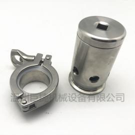 弹簧式安全阀 卫生级快装安全阀、卡箍弹簧式排气阀