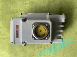 精小型电动执行器 球阀蝶阀电动执行器 带拐壁执行器