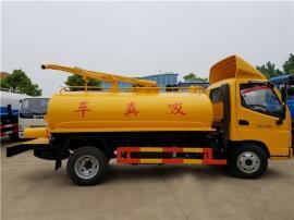 自吸自排沼液运输车-10方沼液沼渣运输车-10吨沼液抽渣车