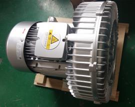 2XB610-H26单叶轮漩涡气泵 贝富克3KW高压鼓风机