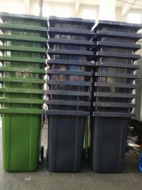 户外塑料分类垃圾桶大容量塑料桶360L塑料街道工厂垃圾桶环卫桶