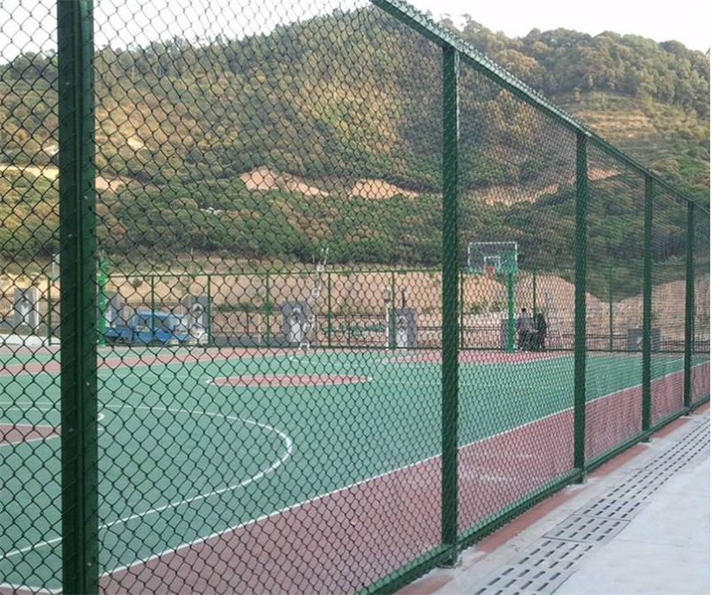 篮球运动场围栏定做-足球场围网-体育场操场围网