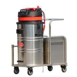 大型车间用电瓶式吸尘器1500W无线式工业吸尘器电动吸尘器