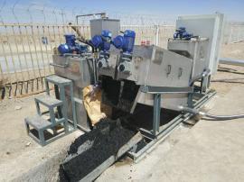 鼎越叠螺机 叠螺式污泥脱水机 污泥压滤机