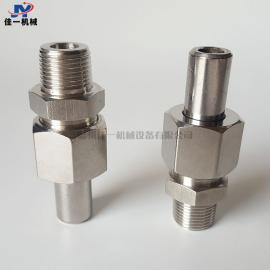 不锈钢焊接直通终端接头 仪表专用外螺纹焊接直通接头 转换接头