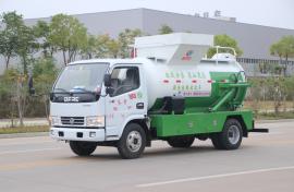 圆罐泔水收集车餐厨垃圾车多利卡餐厨垃圾车泔水车