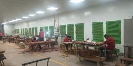 打磨抛光粉尘治理设备 打磨房打磨台 移动工作房环保设备