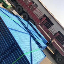 脚手架钢网 建筑防护网板 爬架网生产厂 圆孔