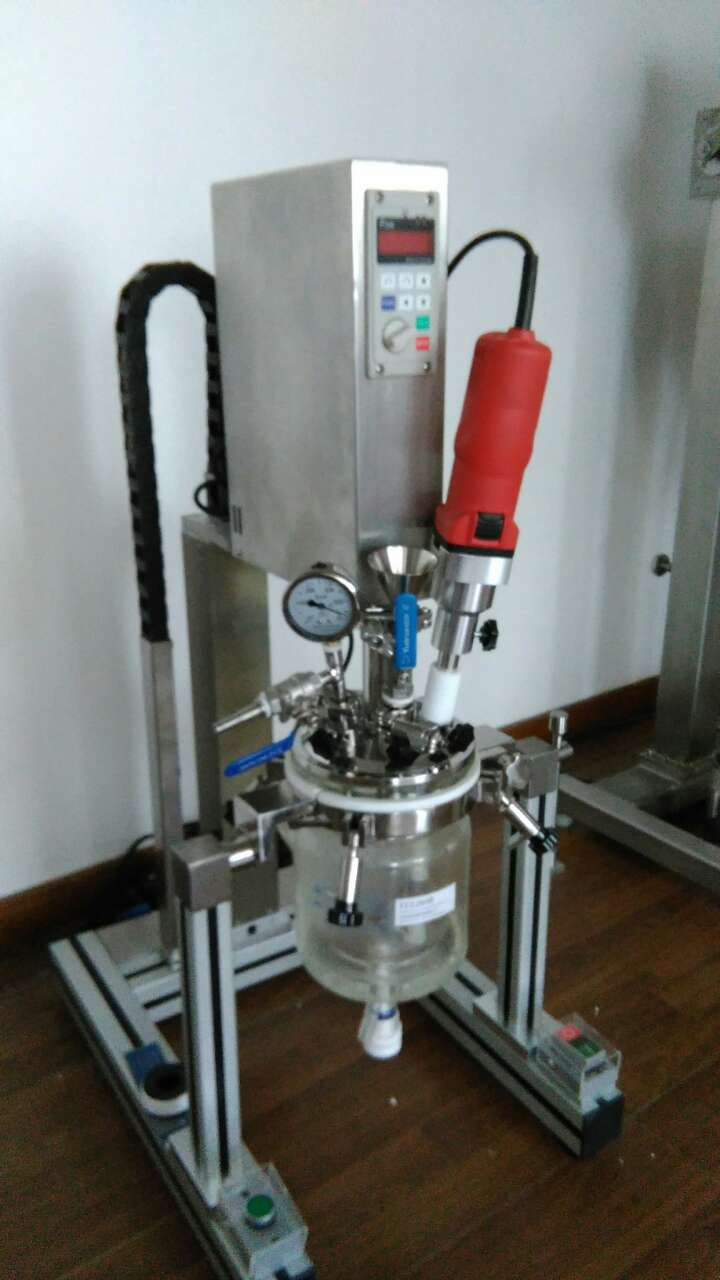 YK-1L约迪食品实验室用混合乳化玻璃反应釜