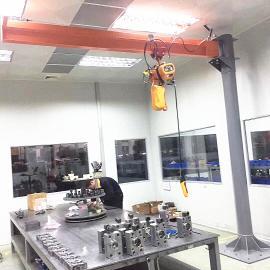 钢丝绳葫芦龙门架利欣工厂设备定制