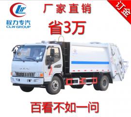 江淮JAC压缩式垃圾车压缩垃圾转运车4方小型垃圾车5吨压缩垃圾车