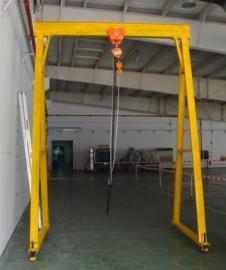 利欣工厂东流影院固定式龙门架规格定制