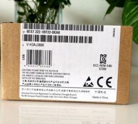 西门子PLC模块6ES7 222-1BF22-0XA8总代理