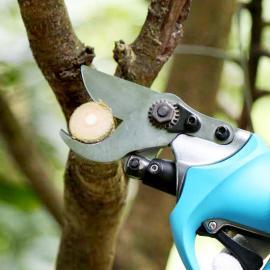 充电果树剪刀 嘉航KH-06电动剪刀 电动修枝剪 锂电池剪刀