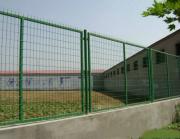 桥梁防抛护栏网 墨绿色带边框护栏网菱形孔-护栏网批量生产定做