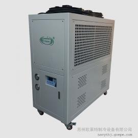 铝型材生产配套降温制冷机,风冷箱式工业冷水机