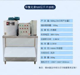 日产500公斤保鲜片冰机