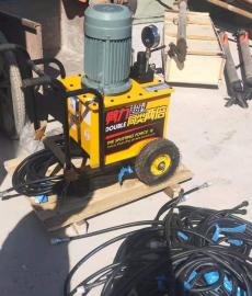 地铁修建施工挖石头撑石机