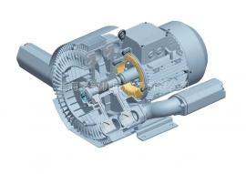 抽真空双段高压风机旋涡气泵