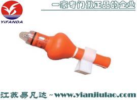 QDL2-2G救生圈自亮浮灯、海洋海水电池漂浮频闪船用救生圈灯