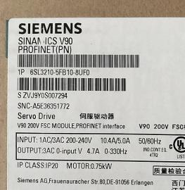 6SL3210-5FB10-8UF0 0.75kw西门子V90 200V驱动器