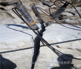 开采岩石的液压劈裂机使用方法