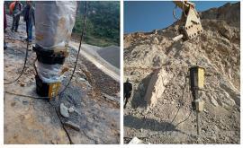 采石场岩石开采劈裂机